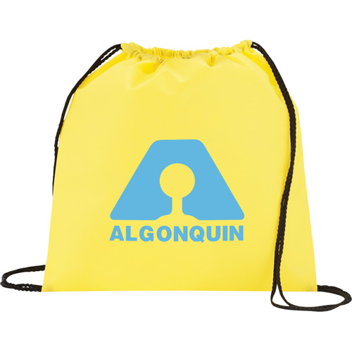 Tahoe Non Woven Drawstring Backpack 14 x 14