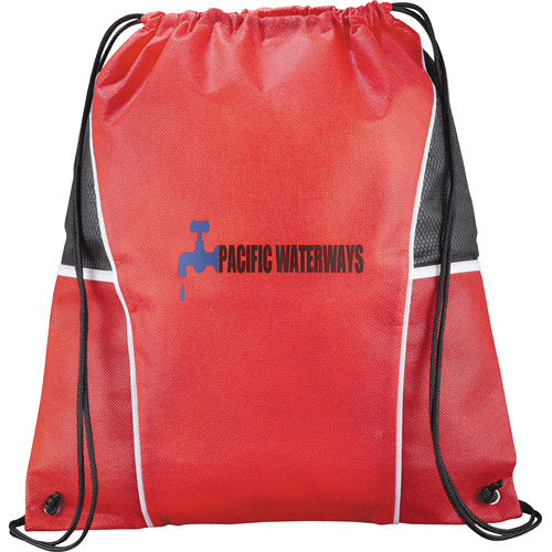 Windmill Non Woven Drawstring Backpack