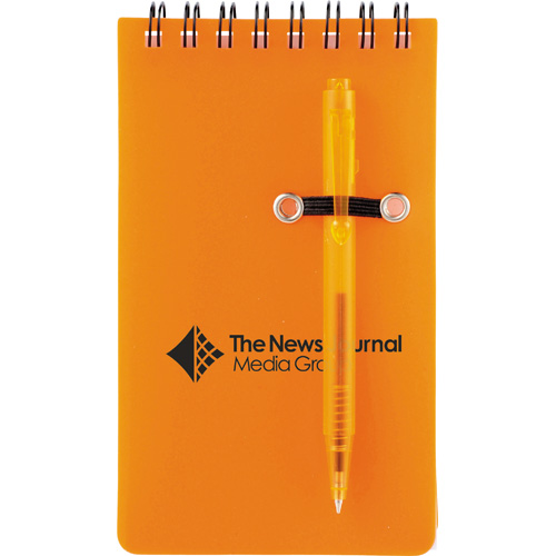 Penguin Jotter with Pen SM-3465, sm3465, daily, spiral, jotter