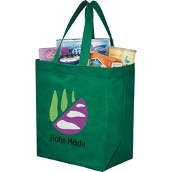 Shopaholic Economy Heat Sealed Shopping Tote 13 x 15 x 8 SM-7411, sm7411, liberty, heat, seal, grocery, tote