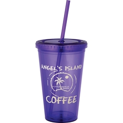 Oasis Double Wall Tumbler 16 oz Oasis,Double,Wall,Tumbler,16,oz,1622-63,162263