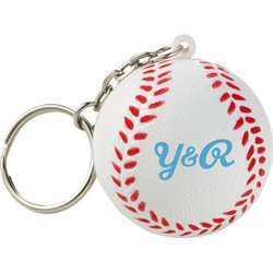 Stressed Out! Baseball Keychain SM-2687, sm2687, home, run, keychain