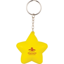 Stresesd Out! Star Keychain SM-2651, sm2651, star, keychain