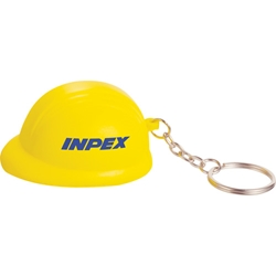 Stressed Out! Hard Hat Keychain SM-2676, sm2676, hard, hat, keychain