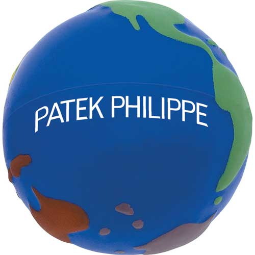 Colorful Earth Stress Reliever SM-3357, sm3357, world, globe, color, stress, reliever, earth