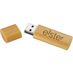 iluvearth Bamboo Flash Drive 8GB 1695-18, 169518, bamboo, usb, flash, drive, 8gb