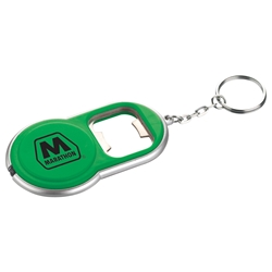 Alpha Key Light Bottle Opener sm-9719, sm9719, round, led
