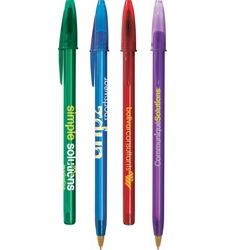 BIC Style Clear Pen STYLCL,BIC,Style,Clear