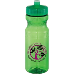 Rapids Sports Bottle 24 oz - Translucent Collection SM-6523,SM6523,Easy,Squeezy,24oz,Sports,Bottle,-Crystal