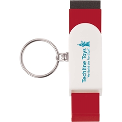 Langston Phone Holder & Screen Cleaner Keychain 21148,Phone,Holder/Screen,Cleaner,Keychain,stand,keychain,key,tag,swivel,britepix,brite,pix,bright,pics,brightpix,britepics,brightpics,4,color,four,full,digital