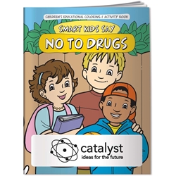 Coloring Book - Smart Kids Say No to Drugs 20629,Coloring,Book,Smart,Kids,Say,No,to,Drugs,instruction,instructional,color,information,informational,guide,education,educational,children,child,kids,doctors,office,medical,health