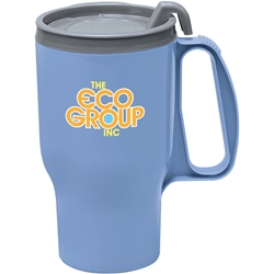 Alpha Travel Mug 16 oz - Gray lid 45611,45611,Traveler,Mug,16,oz,
