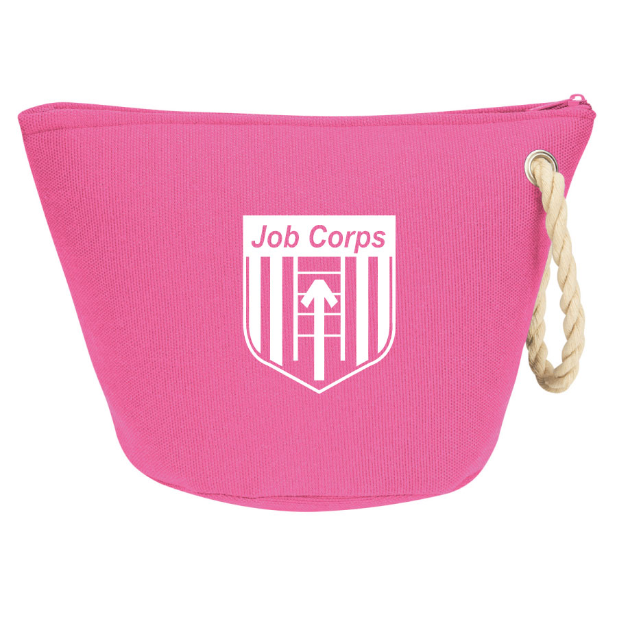 Cappella Amenity Bag - Job Corps 9420,9420,Cosmetic,Bag,with,Rope,Strap,