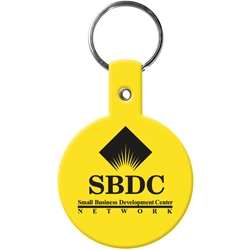 Flexible Key Tag - Circle - Small 505,505,Circle,Flexible,Key-Tag,