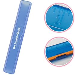 "12"" Plastic Ruler with Pencil Holder 1440,1440,12"",Leading,Edge,Ruler,"