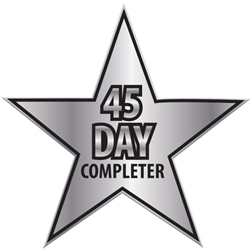 "45 Day Completer Star Pin UP100 STR-5,UP100 STR5,Laminated,Digital,Full,Color,Pin,Star,1.12"",W,Job Corps"