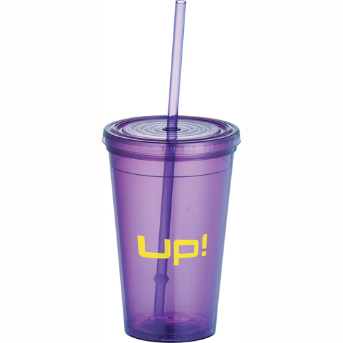 Redondo Tumbler with Press On Lid 16 oz - 11126