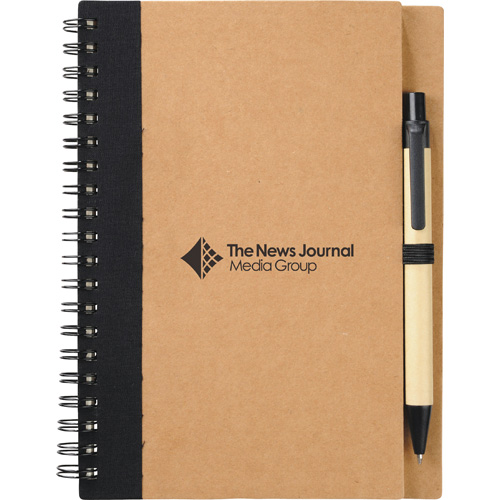 iluvearth Recycled Junior Notebook with Pen - 11359