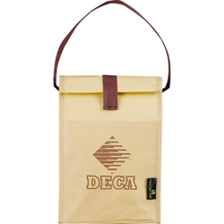 Icicle Laminated Brown Bag Lunch Bag 2160-55, 216055, laminated, non-woven, non, woven, brown, baggin, baggin, it, lunch, bag