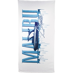 Summer Daze Medium Weight Beach Towel 10.5 lb/doz - White 2090-07, 209007