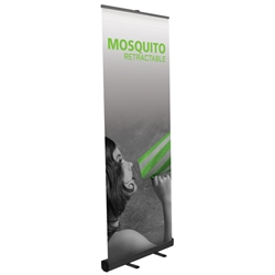 "Mosquito Economy Retractable Banner Stand 31.5"" W MSQT-800, MSQT-800-S, MSQT-800-B, MSQT800, MSQT800S, MSQT800B"
