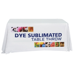 4 Dye Sublimated Table Throw TBL-4, TBL-4-E, TBL-4-F