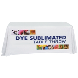 6 Dye Sublimated Table Throw TBL-6, TBL-6-E, TBL-6-F