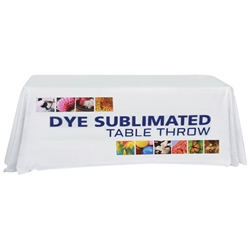 8 Dye Sublimated Table Throw TBL-8, TBL-8-E, TBL-8-F