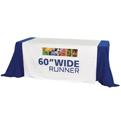"60"" Dye Sublimated Table Runner"