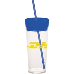 Coastline Tumbler with Straw 22 oz sm-6659, sm6659, templar