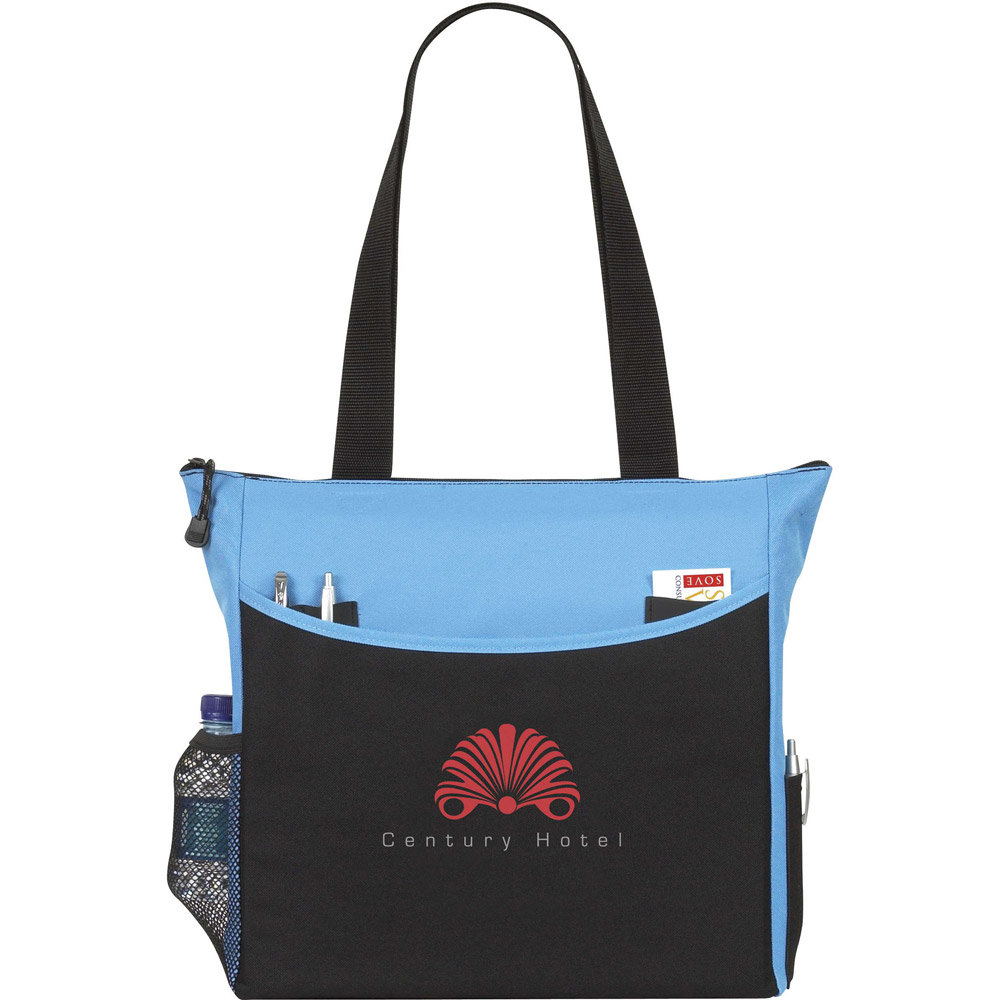 Margate Zippered Tote AP8400,TranSport,It,Tote