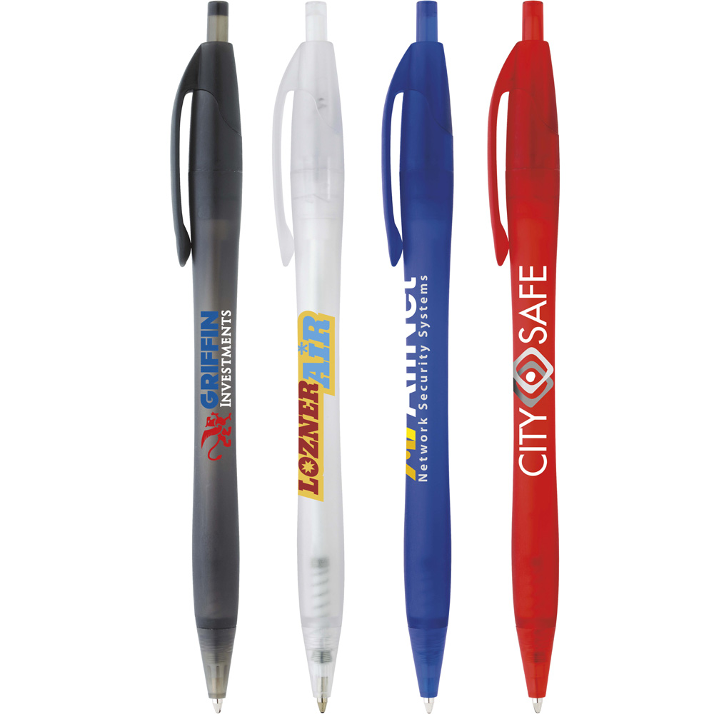 Jubilee Pen - Translucent Collection 55663,Frosted,dart,cougar,javelin,javalina,Pen,souvenir