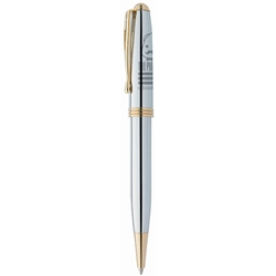 BIC Worthington Chrome Ballpoint Pen WCCB,BIC,Worthington,Chrome