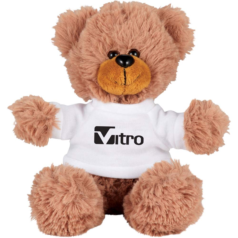"Bobby the Bear 6"" Plush Animal with Shirt - 18015"