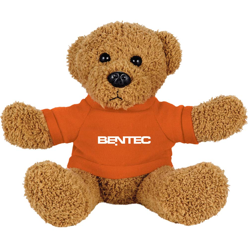 "Retro Bear 8"" Plush Animal with Shirt"