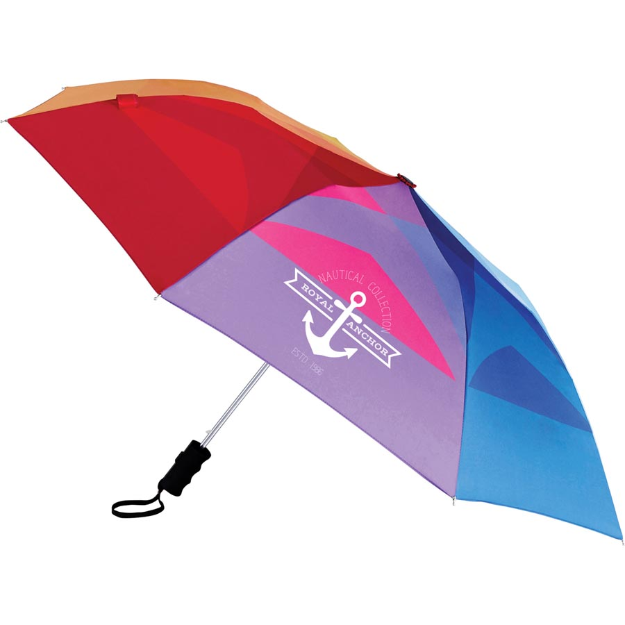 "Stromberg 42"" Auto Open Windproof Umbrella - Rainbow 2050-69,205069,42?,Auto,Open,Windproof,Umbrella,Rainbow,"