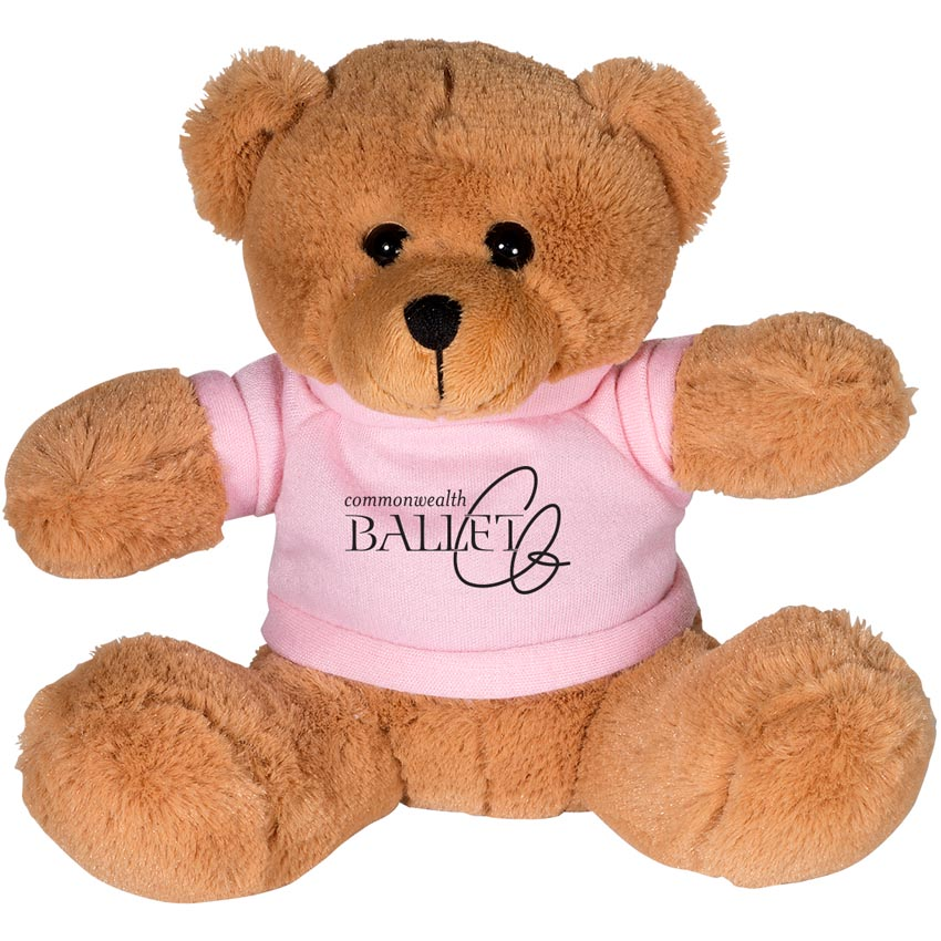 "Bobby the Bear 7"" Plush Animal with Shirt"