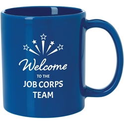 Villager Mug 11 oz - Welcome to the Job Corps Team 45140C,45140C,Budget,Mug,-,11,oz.,(colors),