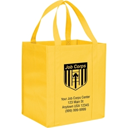 Shopaholic Full Size Shopping Tote - Job Corps - Custom SM-7427,SM7427,Hercules,Grocery,Tote,