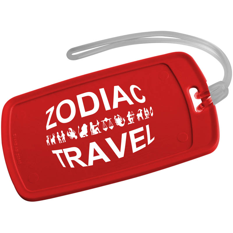 Jupiter Write On Luggage Tag - Rectangle - 20791