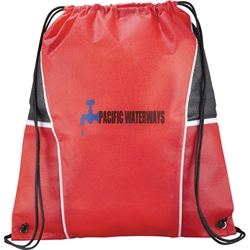 Windmill Non Woven Drawstring Backpack SM-7340, sm7340, diamond, drawstring, cinch, backpack