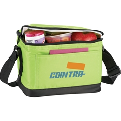 Cold Snap Deluxe 6 Pack Cooler SM-7500, sm7500, out, to, lunch, 6-pack, 6, pack, lunch, bag
