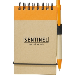 iluvearth Recycled Jotter with Pen SM-3429, sm3429, recycled, eco, jotter, with, pen, and