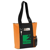 Overton Zippered Tote SM-7320, sm7320, infinity, business, tote