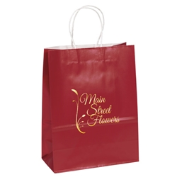 Villager Glossy Shopper 10 x 5 x 13 Colors amber, gloss, shopper, 341013