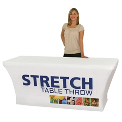 6 Dye Sublimated Stretch Table Throw TBL-SW-6-F