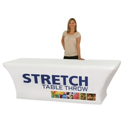 8 Dye Sublimated Stretch Table Throw TBL-SW-8-F