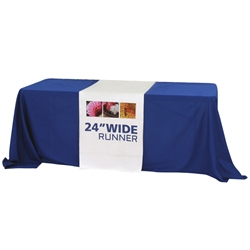 "24"" Dye Sublimated Table Runner"
