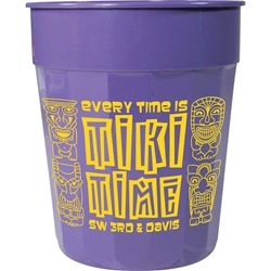 Arcade Fluted Stadium Cup 24 oz - Color Collection HL-504, HL504, 24-oz., Fluted, Stadium, Cup