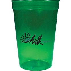 Savannah Stadium Cup 16 oz - Translucent Collection HL-581, HL581, 16-oz., Jewel, Stadium, Cup